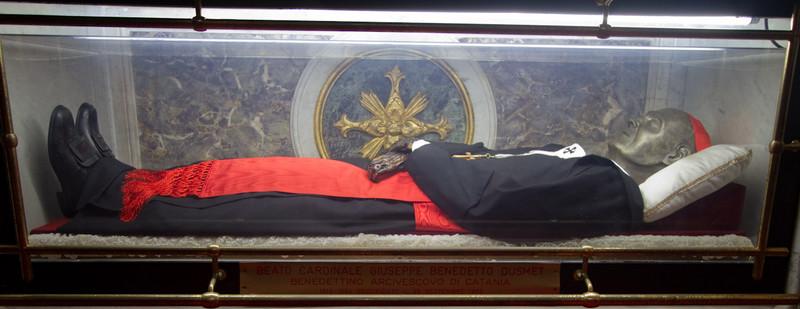 Beatto Cardinale Giuseppe Benedetto Dusmet in Duomo di Catania